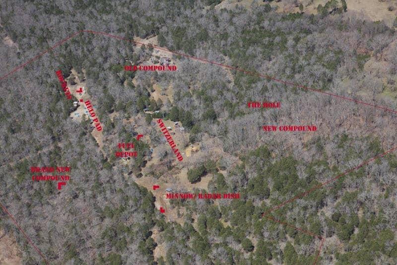 Bad Karma Airsoft field map