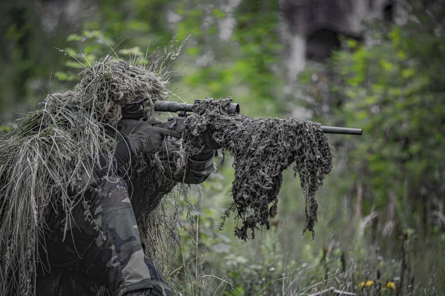airsoft sniper in a ghillie suit (1)