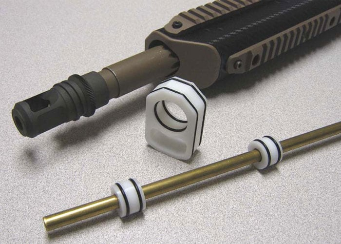 barrel spacers for an airsoft sniper rifle